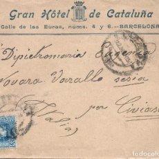 Sellos: ESPAÑA.CARTA CIRCULACION. AÑO 1905.. Lote 204425422