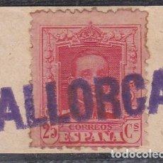 Sellos: ESPAÑA.- SELLO Nº 317 CON RARA MARCA DEL VAPOR . ( EL DE LA FOTO).. Lote 205367128