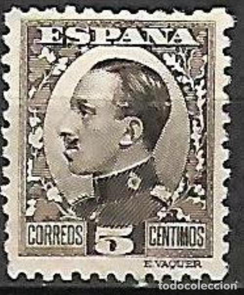 EDIFIL 491* NUEVO (Sellos - España - Alfonso XIII de 1.886 a 1.931 - Nuevos)