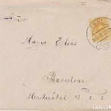 Sellos: AÑO 1909 EDIFIL 271 ALFONSO XIII SOBRE MATASELLOS ZARAGOZA. Lote 205725000