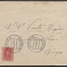 Sellos: 1929 LERMA A BURGOS.. Lote 205842537