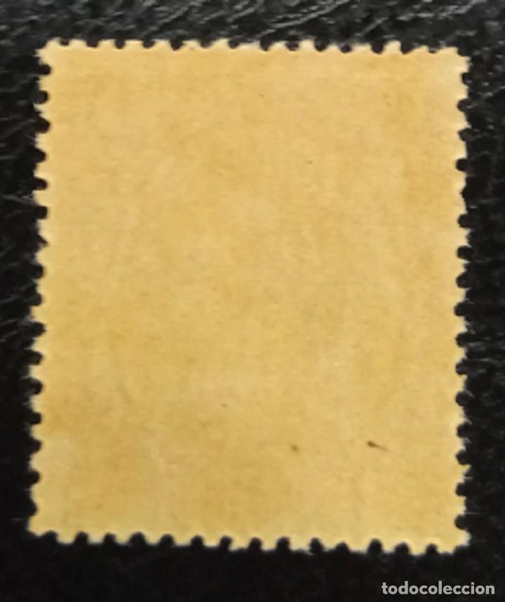 Sellos: ESPAÑA. EDIFIL 214 **. 2 CT NEGRO ALFONSO XIII TIPO PELÓN - Foto 2 - 206211617