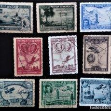 Sellos: ESPAÑA 1930 PRO UNIÓN IBEROAMERICANA EDIFIL 583 - 591. Lote 206244100