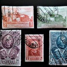 Sellos: ESPAÑA 1930 DESCUBRIMIENTO DE AMÉRICA EDIFIL 559 - 656. Lote 206244225
