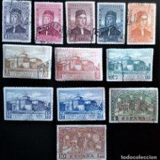 Sellos: ESPAÑA 1930 DESCUBRIMIENTO DE AMÉRICA EDIFIL 547 - 558. Lote 206244350