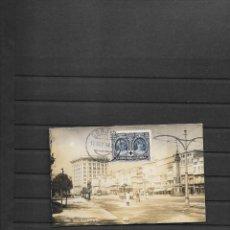 Sellos: ESPAÑA CRUZ ROJA TARJETA POSTAL LA CORUÑA 1926. Lote 206395302
