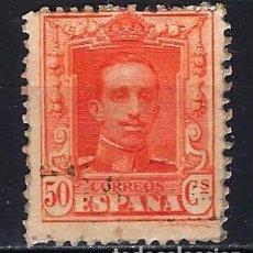 Selos: 1922-1930 ESPAÑA EDIFIL 320 ALFONSO XIII 'TIPO VAQUER' USADO. Lote 206429148
