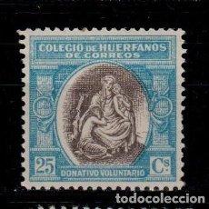 Sellos: 0149 ESPAÑA- BENEFICENCIA - HUERFANOS DE CORREOS EDIFIL B-3 NUEVO, SIN FIJASELLOS (2). Lote 206957256
