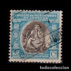 Sellos: 0149 ESPAÑA- BENEFICENCIA - HUERFANOS DE CORREOS EDIFIL B-3 USADO. Lote 206957285