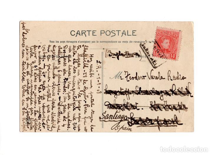 CARTERÍA SAN RAFAEL.(SEGOVIA). (Sellos - España - Alfonso XIII de 1.886 a 1.931 - Cartas)