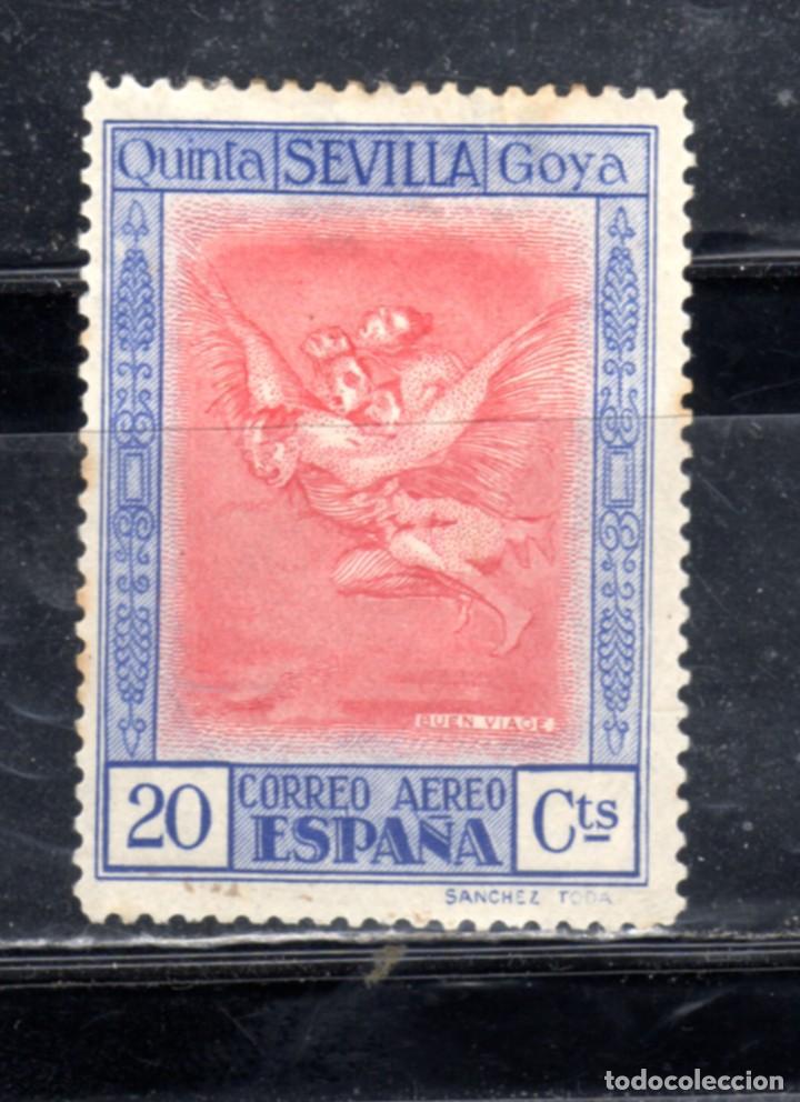 ED Nº521*QUINTA DE GOYA, NUEVO CON SEÑAL DE FIJASELLOS (Sellos - España - Alfonso XIII de 1.886 a 1.931 - Nuevos)