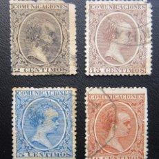 Sellos: LOTE COMUNICACIONES ALFONSO XIII 1891. Lote 207944112