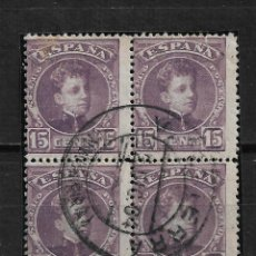 Selos: ESPAÑA 1901 EDIFIL 245 USADO NAVARRA - 15/60. Lote 219579363