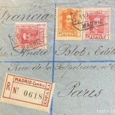 Sellos: ESPAÑA, CARTA CIRCULADA EN EL AÑO 1929. Lote 210286333