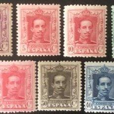 Sellos: 1922-1930-ESPAÑA ALFONSO XIII VAQUER EDIFIL 310/20 MNH** - NUEVO SIN CHARNELA-. Lote 210561293