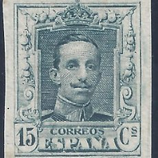 Sellos: EDIFIL 315S. ALFONSO XIII TIPO VAQUER 1922. NUMERACIÓN CONOCIDA B285,218. V. CAT.: 530 €. MNH **. Lote 211256340
