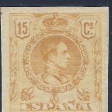 Sellos: EDIFIL 271S. ALFONSO XIII TIPO MEDALLÓN 1909. NUMERACIÓN CONOCIDA R.103,716. V. CAT.: 210 €. MNH **. Lote 211271761