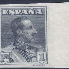 Sellos: EDIFIL 321SA. ALFONSO XIII TIPO VAQUER 1922. VALOR CATÁLOGO: 46 €. LUJO. MNH **. Lote 211389036