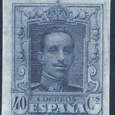 Sellos: EDIFIL 319S. ALFONSO XIII TIPO VAQUER 1922. VALOR CATÁLOGO: 66 €. LUJO. MNH **. Lote 211389607