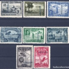 Sellos: EDIFIL 583M-591M PRO UNIÓN IBEROAMERICANA 1930 (MUESTRA). VALOR CAT.ESPEC.: 256 €. MNH **. Lote 211582445