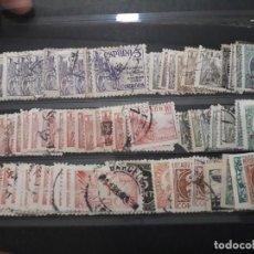 Timbres: SELLOS ESPAÑA PRIMER CENTENARIO MATASELLOS MUY LEGIBLES IDEAL PARA ESTUDIO. Lote 211873232