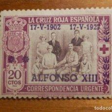 Sellos: SELLO EDIFIL ESPAÑA Nº 362 - ALFONSO XIII - AÑO 1927 - 20 CTOS LILA - ANIVERSARIO JURA CONSTITUCIÓN. Lote 212985238