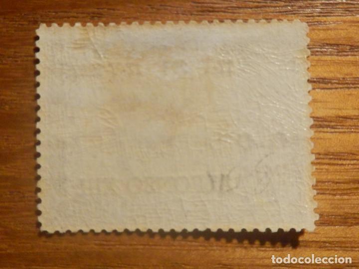 Sellos: SELLO EDIFIL ESPAÑA Nº 362 - Alfonso XIII - Año 1927 - 20 Ctos Lila - Aniversario Jura Constitución - Foto 2 - 212985238