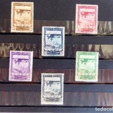 Sellos: SELL.-6. PRO EXPOSICIONES SEVILLA Y BARCELONA. SERIE COMPLETA. 1929. EDIFIL 448/453. NUEVOS MNH.. Lote 213804796
