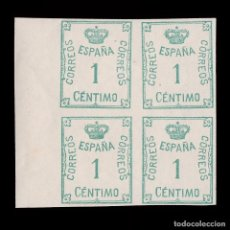 Francobolli: 1920.CORONA CIFRA.1C .BLQ4.MNH. EDIFIL 291. Lote 215799715