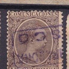 Selos: ALFONSO XIII PELÓN EDIFIL 219 MATASELLOS CARTERÍA ASCO (TARRAGONA).. Lote 216015057