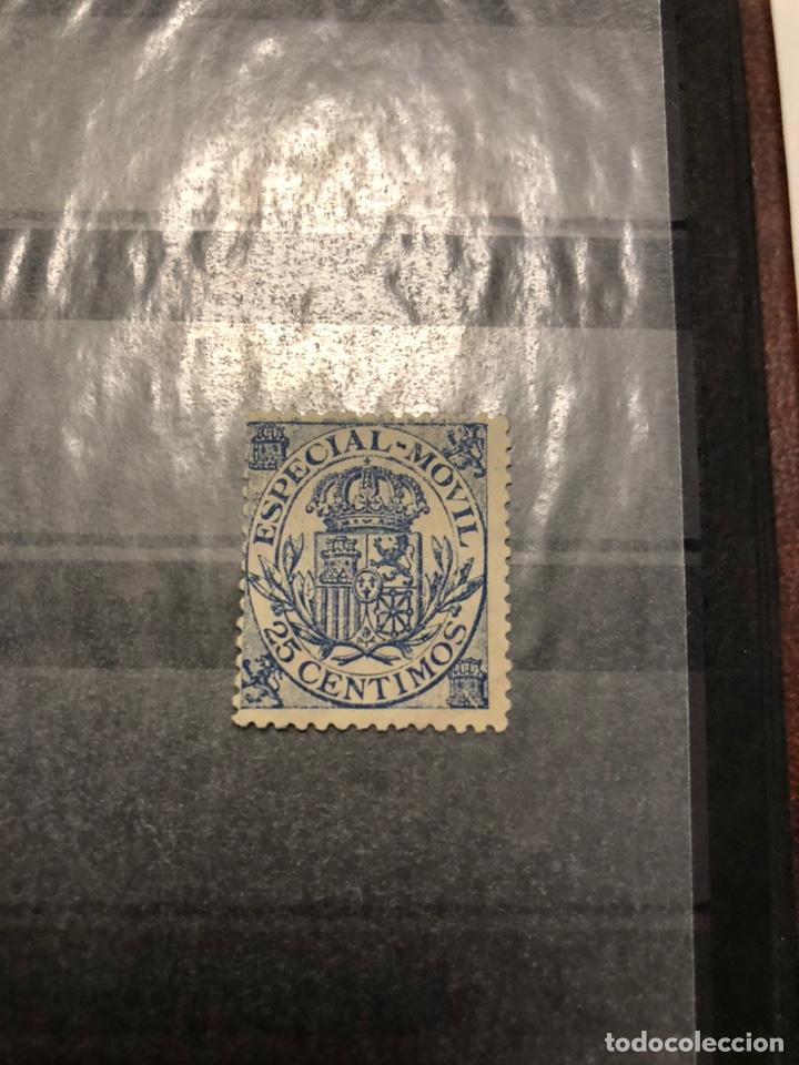 TIMBRE ESPECIAL MÓVIL 1922 ALEMANY 12 25 CÉNTIMOS NUEVO (Sellos - España - Alfonso XIII de 1.886 a 1.931 - Nuevos)