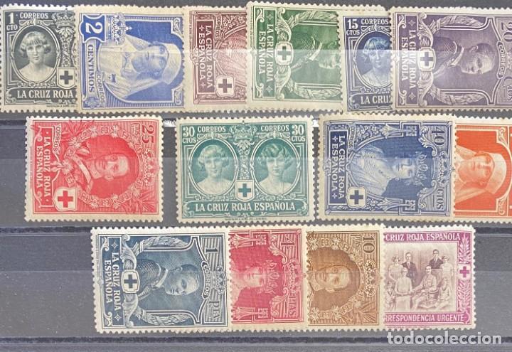 ESPAÑA, ALFONSO XIII, SERIE Nº 325/338 (Sellos - España - Alfonso XIII de 1.886 a 1.931 - Cartas)