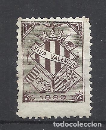 VIVA VALENCIA 1899 NUEVO(*) (Sellos - España - Alfonso XIII de 1.886 a 1.931 - Nuevos)