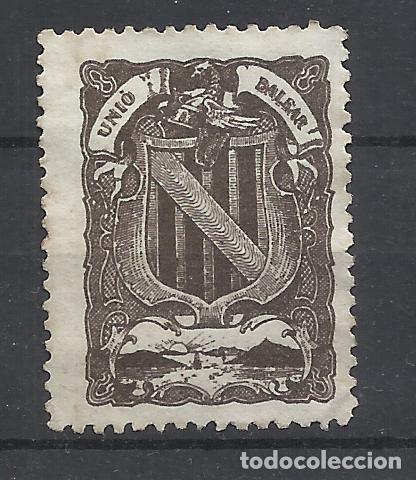 UNIO BALEAR NUEVO(*) BALEARES (Sellos - España - Alfonso XIII de 1.886 a 1.931 - Nuevos)