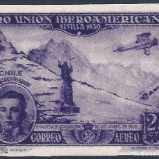 Selos: EDIFIL 585 PRO UNIÓN IBEROAMERICANA 193 (VARIEDAD 585CCS...COLOR CAMBIADO). VALOR CAT.: 69 €. MNH **. Lote 217711560
