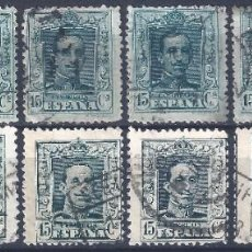 Sellos: EDIFIL 315-315B ALFONSO XIII. TIPO VAQUER 1922.. Lote 218136172