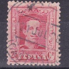 Sellos: LL3- ALFONSO XIII VAQUER EDIFIL 317 USADO CALIG (CASTELLÓN). Lote 218165432