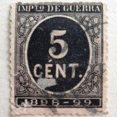 Sellos: SELLOS ESPAÑA 1898. REINADO ALFONSO XIII. EDIFIL 2366. USADO. CIFRA. Lote 218192912
