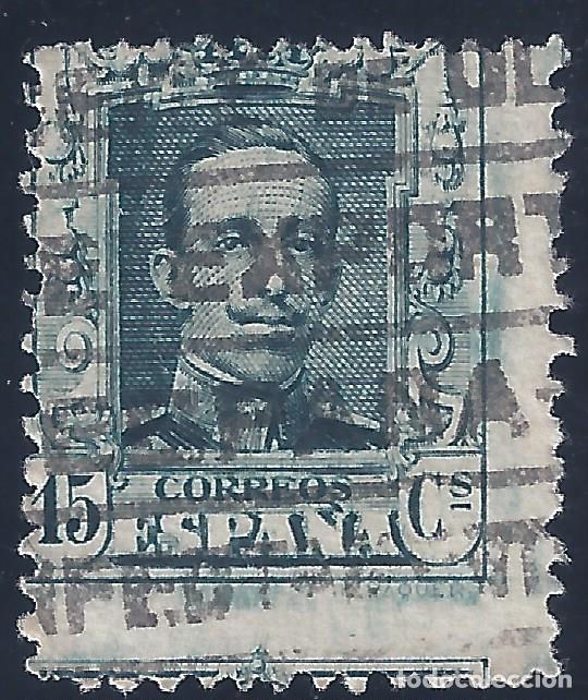 EDIFIL 315A ALFONSO XIII. TIPO VAQUER 1922. VALOR CATÁLOGO: 29 €. (Sellos - España - Alfonso XIII de 1.886 a 1.931 - Usados)