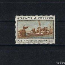 Sellos: ESPAÑA. AÑO 1930.DESCUBRIMIENTO DE AMÉRICA. 30 CÉNTIMOS.. Lote 218290526