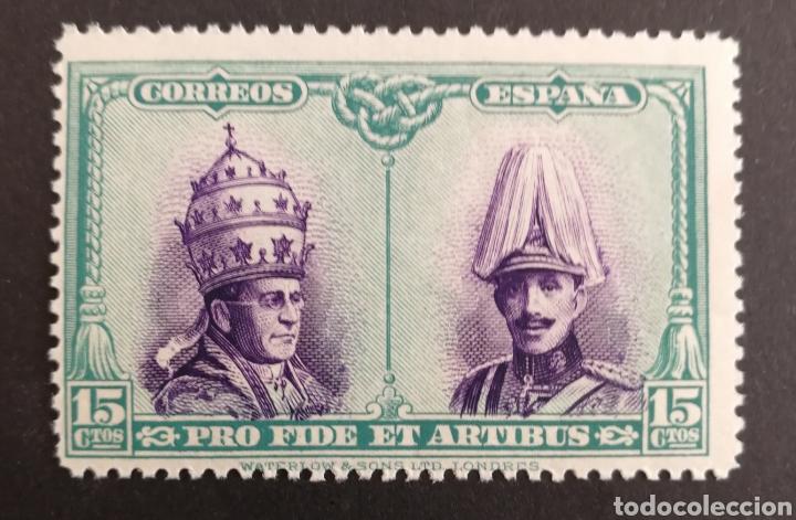 ESPAÑA N°424 MNH**CATACUMBAS (FOTOGRAFÍA REAL) (Sellos - España - Alfonso XIII de 1.886 a 1.931 - Nuevos)