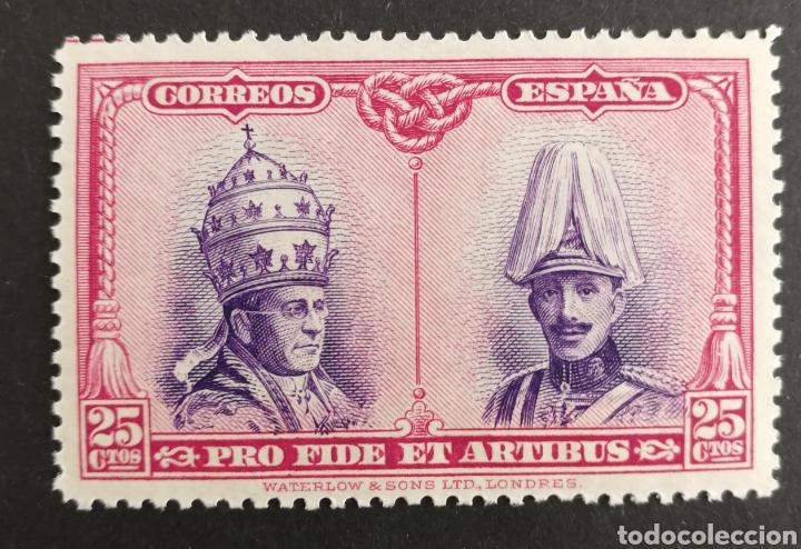 ESPAÑA N°425 MNH** CATACUMBAS (FOTOGRAFÍA REAL) (Sellos - España - Alfonso XIII de 1.886 a 1.931 - Nuevos)