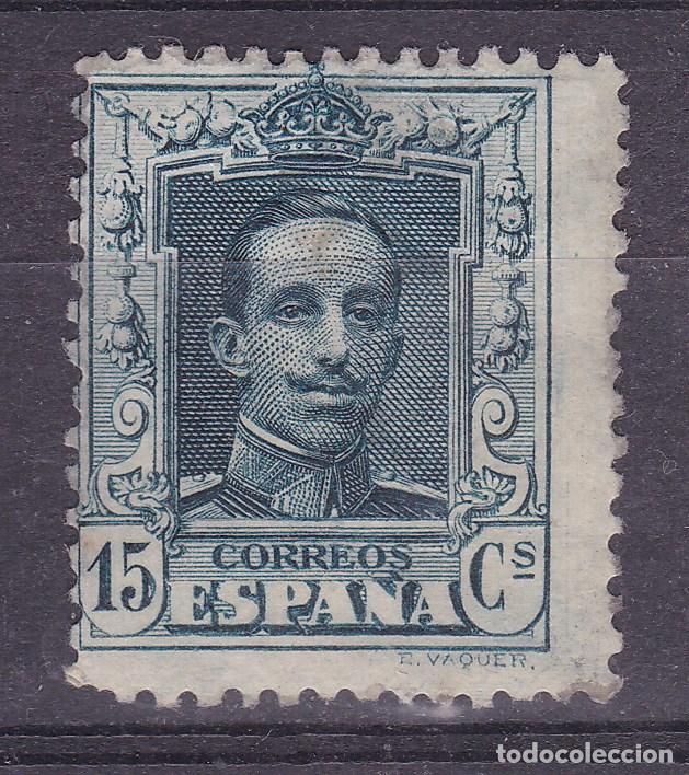 LL21- ALFONSO XIII VAQUER EDIFIL 315A. NUEVO (*) SIN GOMA (GOMA PARCIAL) (Sellos - España - Alfonso XIII de 1.886 a 1.931 - Nuevos)