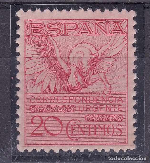 LL22- PEGASO URGENTE EDIFIL 454 . NUEVO ** SIN FIJASELLOS . LUJO (Sellos - España - Alfonso XIII de 1.886 a 1.931 - Nuevos)