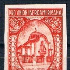Sellos: ESPAÑA 1930 PRO UNIÓN IBEROAMERICANA EDIFIL 591S NUEVO FOTOGRAFÍAS. Lote 219024777