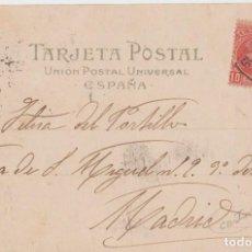 Sellos: TARJETA POSTAL CON CARTERIA DE CESTONA - GUIPUZCOA. Lote 219118658