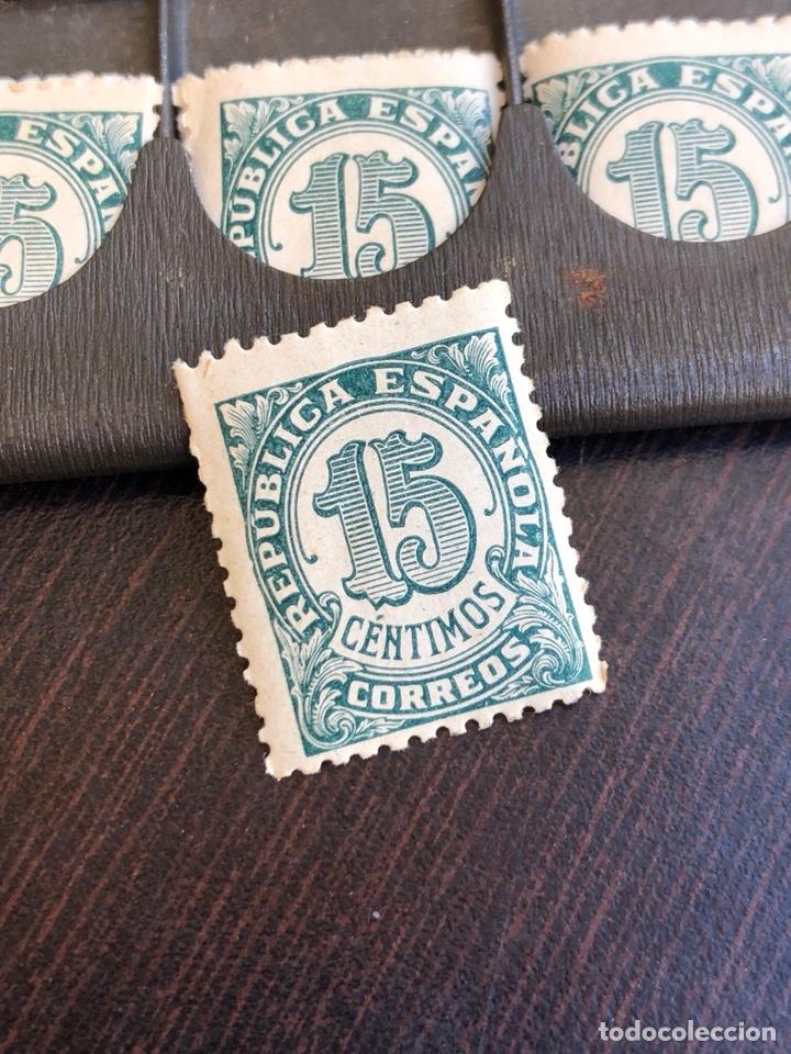 Sellos: Rara carterita metálica porta-sellos, fechado en 1909 - Foto 5 - 220249496