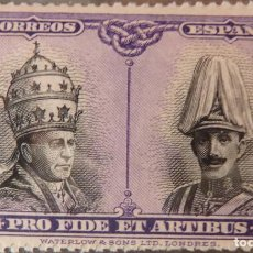Selos: ESPAÑA - 1928 - ALFONSO XIII - EDIFIL 418 - MNH* - NUEVO - PRO CATATUMBAS DE SAN DAMASO.. Lote 245116445