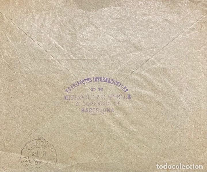 Sellos: ESPAÑA, CARTA CIRCULADA EN EL AÑO 1902 - Foto 2 - 222000285