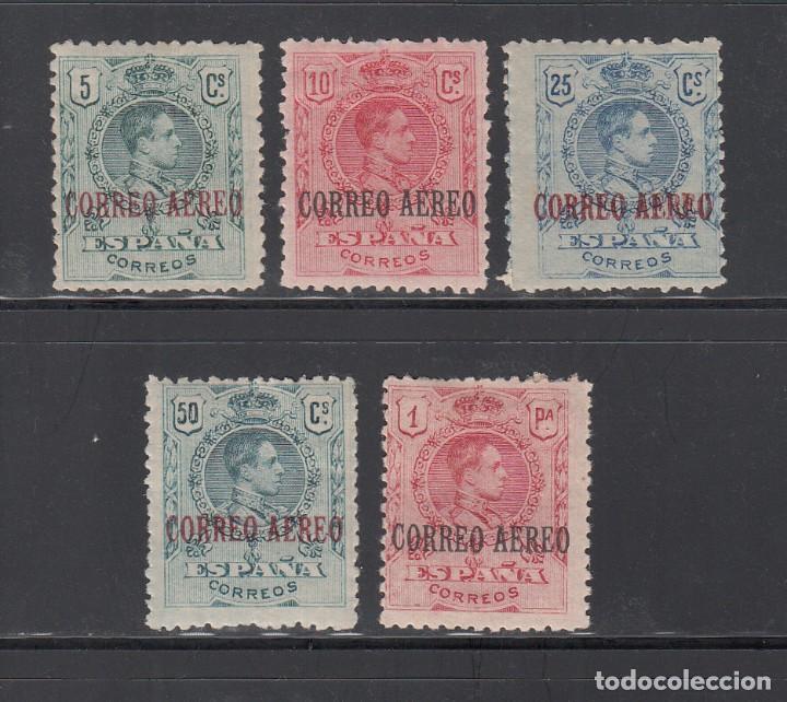 ESPAÑA, 1920 EDIFIL Nº 292 / 296 /*/, ALFONSO XIII, CORREO AÉREO (Sellos - España - Alfonso XIII de 1.886 a 1.931 - Nuevos)